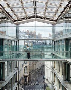 BNP Paribas in Paris, France. Glass is beautiful