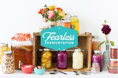 Learn how to make your own probiotic-rich foods in my Fearless Fermentation video based classes. Sarah Ramsden