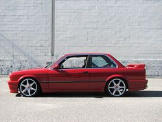 E30 Bmw with body kit | Classic BMW's | Classic Bimmers | Classic Car | Car | Bimmer | BMW | Dream Car | collectable car | car photography | Drive | Sheer Driving Pleasure | Schomp BMW
