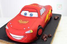 Rayo McQueen Cake paso a paso| Natalia Salazar - Disney Cars Party, Disney Cars Birthday, Lighting Mcqueen Cake, Birthday Parties, Birthday Ideas, Bussines Ideas, Mc Queen, Cakes, Projects