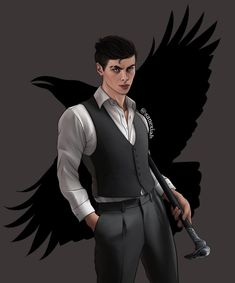 """@sanexiah: """"Kaz Brekker 😙 Lil reminder that you can order stickers & prints by clicking on the link in my bio…"""" Kaz Brekker, Six Of Crows, Batman, Superhero, Prints, Fictional Characters, Instagram, Stickers, Link"""