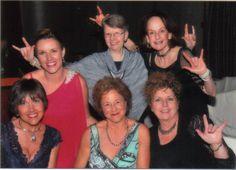 Katrina Heuskes, Dorothy Hackman, Susan Isoe-Schneider,Nanci Barton, Katrina Heuskes, Barbara Warren and Linda Rogers on the Infinite Love Boat. ~ http://hackmanshomehealthspa.abmp.com