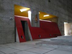 Sacristie de l'église du couvent de la Tourette (1957-60) Le Corbusier