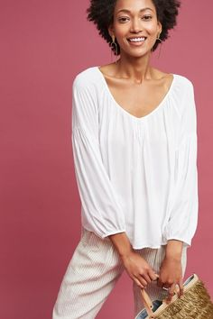 Malta Pleated Top