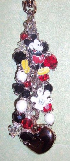 Mickey Mouse purse light  www.divadangles.com