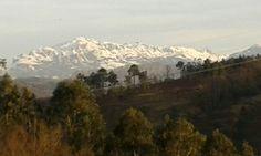 Sierra del Aramo nevada