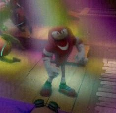 """""""I singled out the dork to make another dance gif. (Sonic Boom: Episode 17 - Don't Judge Me) """""""