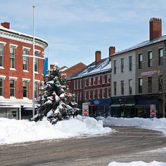 portsmouth new hampshire in winter