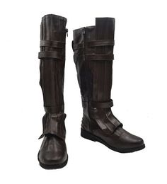 Star Wars Darth Vader Anakin Skywalker Cosplay Shoes Brown Boots Custom Made *** You can get more details by clicking on the image.