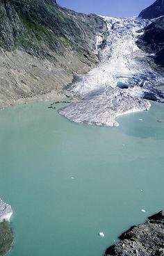 Triftgletscher Glacier, Switzerland, 2003 Photograph