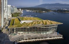 Techo verde - Vancouver Convention Center, Canadá