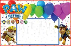 How to decorate a Paw Patrol birthday - Birthday FM : Home of Birtday Inspirations, Wishes, DIY, Music & Ideas 3rd Birthday Party For Boy, Birthday Photos, Happy Birthday, Birthday Parties, Paw Patrol Party, Paw Patrol Birthday, Party Characters, Ideas Para Fiestas, Birthday Decorations