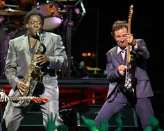 the original bromance, they don't come closer than Bruce Springsteen and Clarence Clemons. RIP Big...