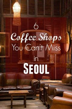 Coffee Shops Seoul