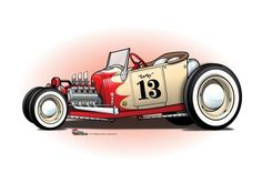 Excellent hot rod cars info is readily available on our web pages. Check it out and you wont be sorry you did. Rat Fink, Car Drawings, Cartoon Drawings, Weird Cars, Cool Cars, Hot Rods, Carros Retro, Hot Rod Tattoo, Chevy
