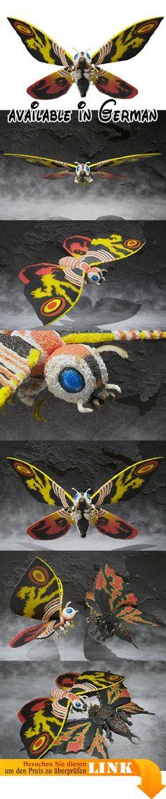 Bandai Tamashii Nationen S.H. MonsterArts Mothra Action Figur. Asien Web Exclusive. Körper und MAW artikuliert. Display inklusive Ständer. ca. 30,5cm Spannweite #Toy #TOYS_AND_GAMES