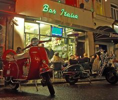 bar italia - best cappuccio in londra (LondonWalk 5-6)