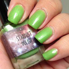 www.justricarda.com Stardust Polish's Sour Apple Pucker