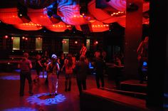 Early evening on the dance floor - Symrise party Las Vegas 2012