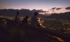 PAOLO RAELI — we walked up the mountain to enjoy the sunset....