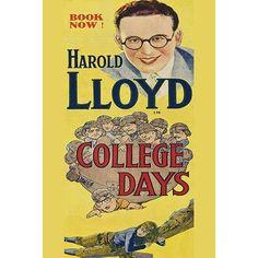 Buyenlarge 'College Days-Football' Vintage Advertisement