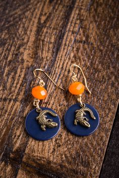 Florida Game Day Earrings