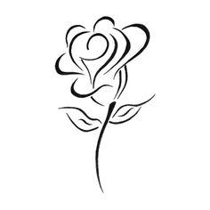 rose black and white roses