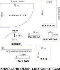 Image result for pola mukena