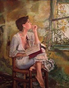 Tuesdays Window by Artist Roxana Gonzales