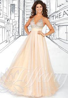 Tiffany 16030 at Prom Dress Shop