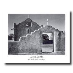 Ansel Adams B W Photo Taos Church Picture Art Print Prints Inc Http