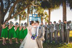 Kelli and Brendan's Doctor Who Beach Wedding - Photographery: Ashfall Mixed Media, inc.
