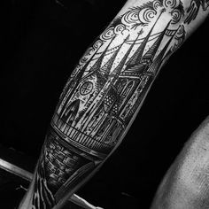 Cathedral by Justin Rockett (@ rockett_tattoo)