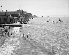 Alki Beach, 1936 by Seattle Municipal Archives, via Flickr