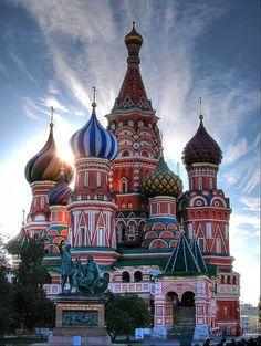 BASILICA DE SAN BASILIO, MOSCU. RUSSIA
