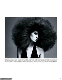 Iris Strubegger in 'Hairy Tales' - Photographed by Daniele + Iango (Vogue Deutsch April 2012)