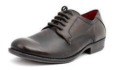 Red Tape - Zapatos de cordones para hombre, color azul, talla 11 UK