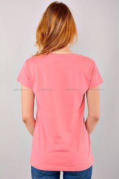 Футболка АТ-12(роз.) Цена: 200 руб Размеры: 44-48  http://odezhda-m.ru/products/futbolka-at-12roz  #одежда #женщинам #футболки #одеждамаркет