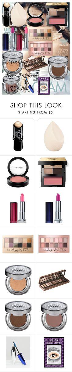 """Miranda Kerr Inspired    VS Look"" by oroartye-1 on Polyvore featuring beauty, Kerr®, Maybelline, Christian Dior, MAC Cosmetics, Bobbi Brown Cosmetics, Urban Decay and L'Oréal Paris"
