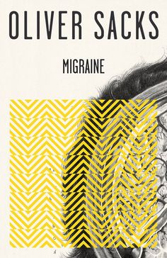 book cover design for Migraine by Oliver Sacks