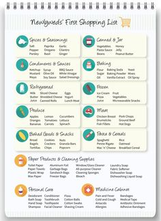 Free Printable Check List for the essentials to buy for a first ...