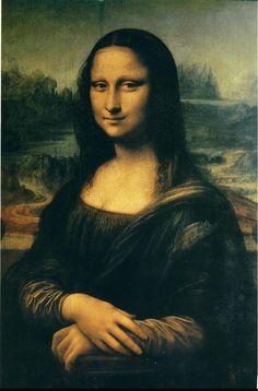 Leonardo da Vinci Mona Lisa 1503-1507 saved by Tain-Cheng