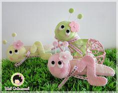 boneca de joaninha de feltro - Pesquisa Google