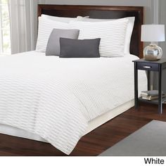 Parker Cotton Duvet with Shams Sold Separately  | Overstock.com Shopping - The Best Deals on Duvet Covers
