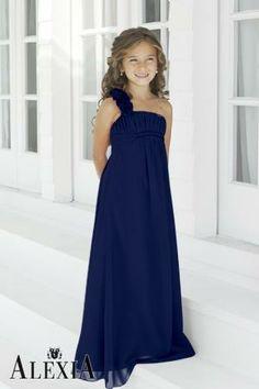 Kids bridesmaid dresses black
