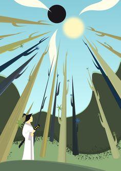 Samurai Jack forest