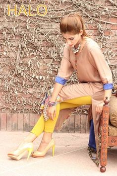 House Of HALO Summer Collection 2013 for Ladies  I like the pop of colour