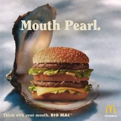 Mouth pearl. #bigmac #mcdonalds  https://www.facebook.com/BigMac