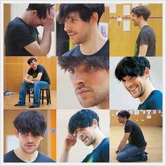 Colin Morgan rehearsing for The Tempest on April 04, 2013. [Image Set 1]
