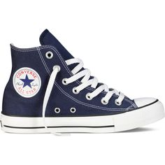 Converse Chuck Taylor All Star Classic Colors – blue Sneakers ($55) ❤ liked on Polyvore featuring shoes, sneakers, converse, blue, star sneakers, converse shoes, blue sneakers, converse high tops and high top trainers